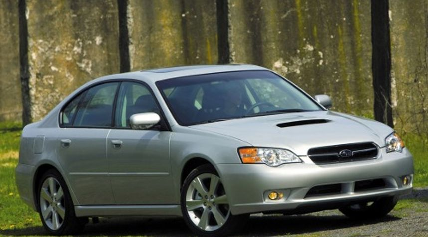 Main photo of Chad Donahue's 2007 Subaru Legacy