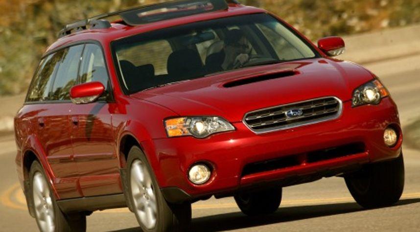 Main photo of Stewart Graham-Hu's 2007 Subaru Outback