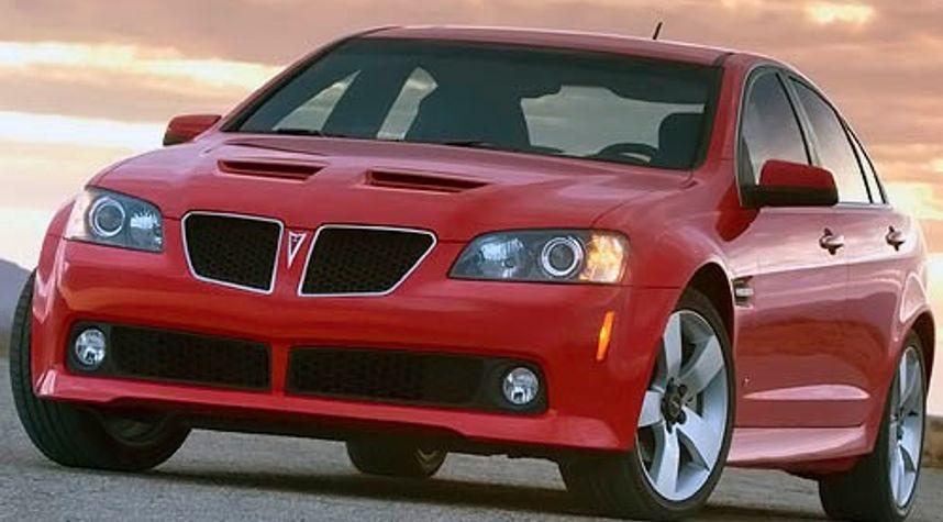 Main photo of Justin Van Orman's 2008 Pontiac G8