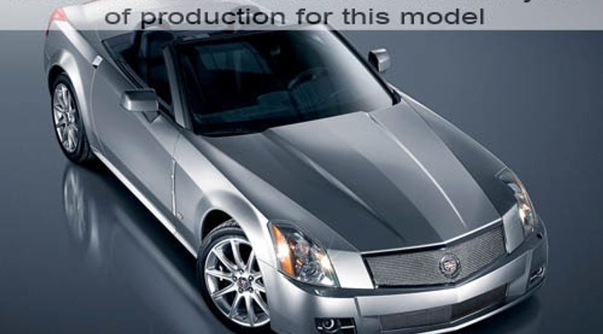 Main photo of Connor Poole's 2009 Cadillac XLR-V