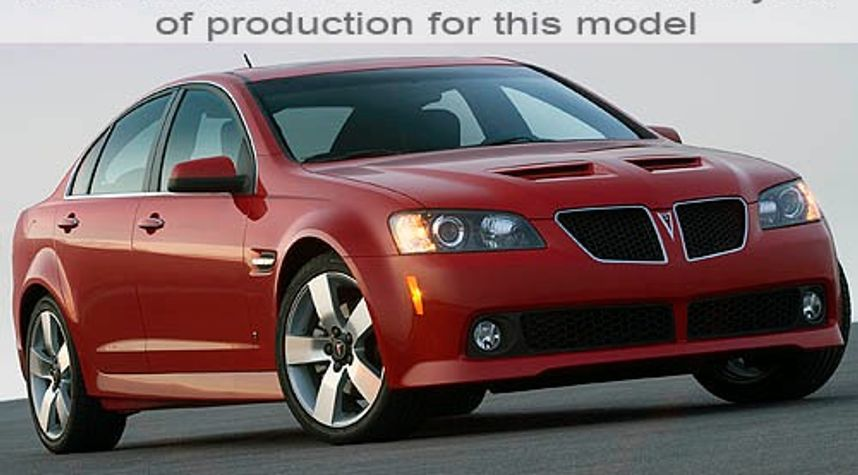 Main photo of Cameron Hendricks's 2009 Pontiac G8