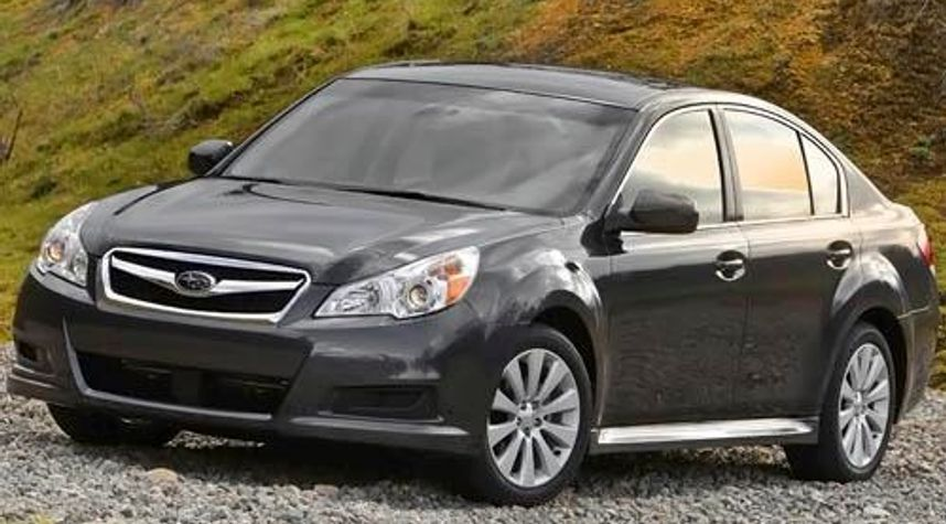 Main photo of Josh Campitelli's 2011 Subaru Legacy