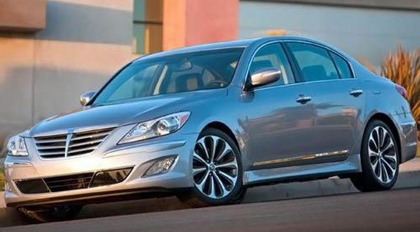 Main photo of John Angell's 2012 Hyundai Genesis