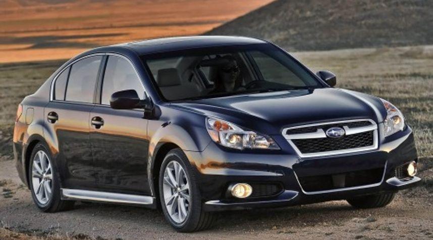 Main photo of Evan Rabinowitz's 2013 Subaru Legacy