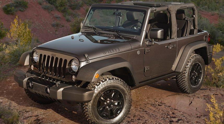 Main photo of Scott Shillington's 2015 Jeep Wrangler