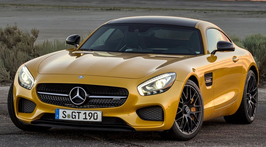 Main photo of Mohamed Farouk Chedly's 2016 Mercedes-Benz AMG GT