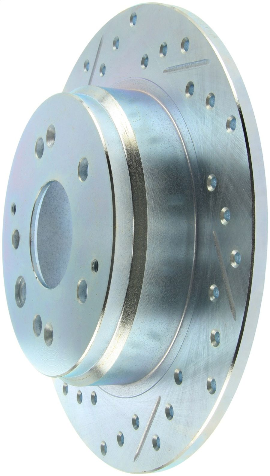 StopTech Disc Brake Rotors Brakes Select Sport Drilled/Slotted Rotor 227.40061R