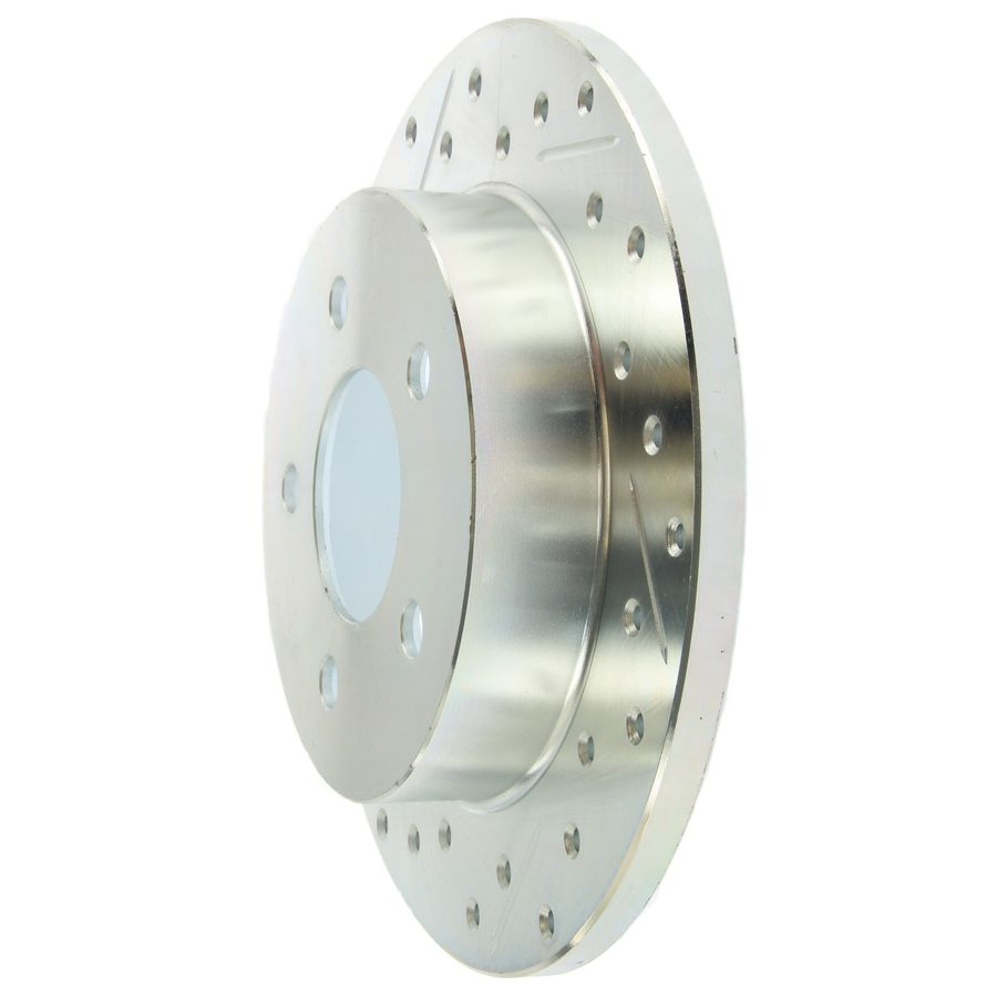 Ford Mustang StopTech Disc Brake Rotors Brakes Select Sport Drilled/Slotted Rotor 227.61042R