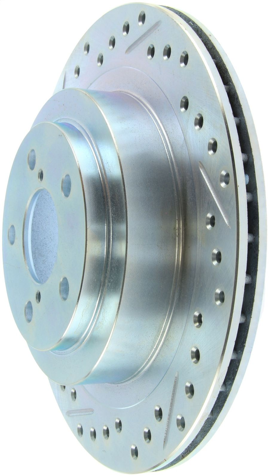 StopTech Disc Brake Rotors Brakes Select Sport Drilled/Slotted Rotor 227.47025R