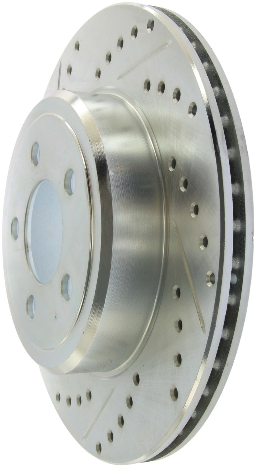StopTech Disc Brake Rotors Brakes Select Sport Drilled/Slotted Rotor 227.63062R