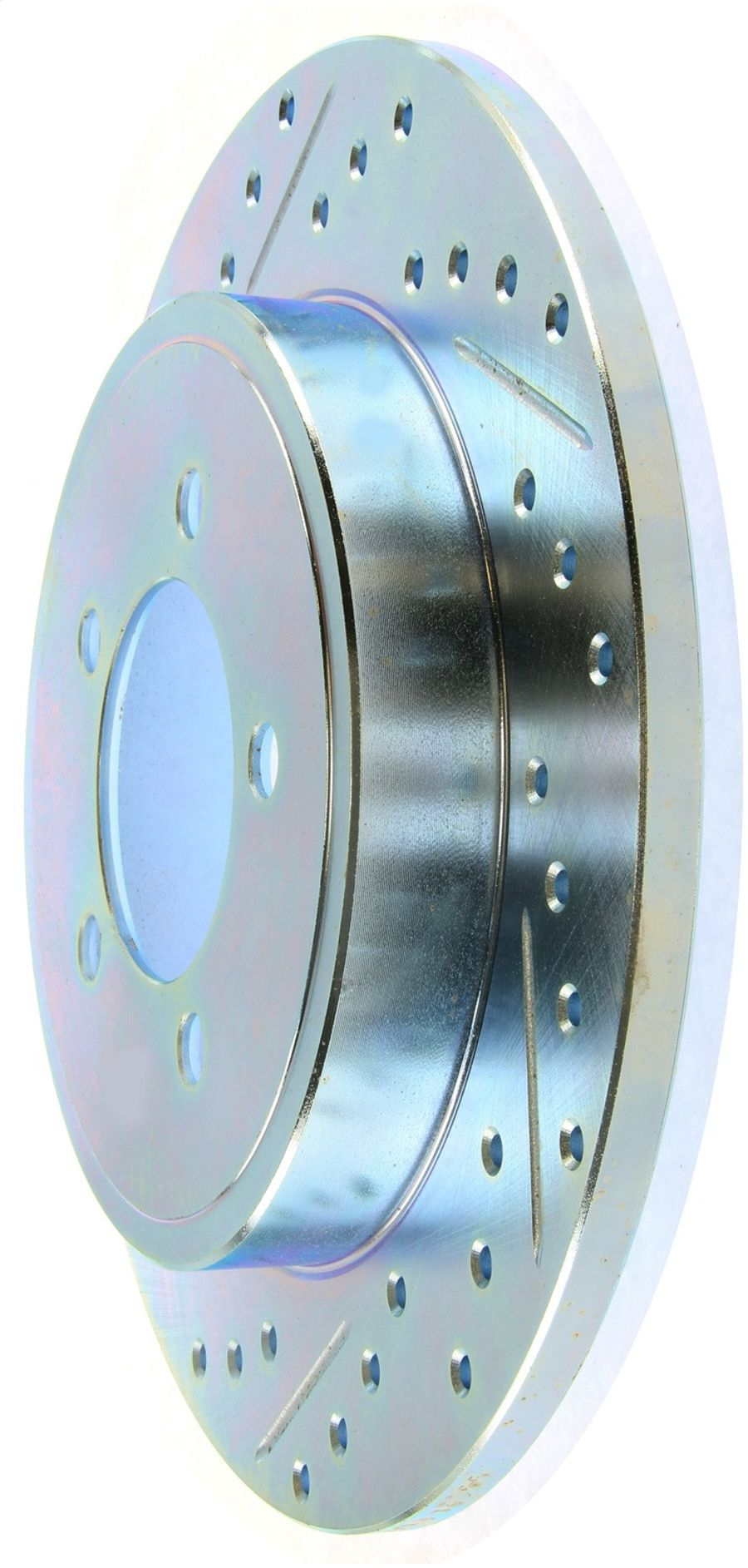 StopTech Disc Brake Rotors Brakes Select Sport Drilled/Slotted Rotor 227.65090R