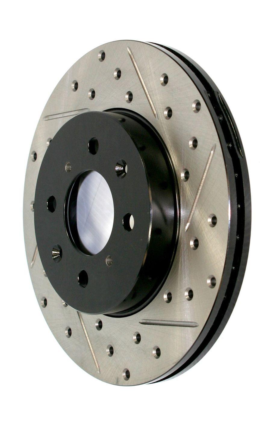 Subaru Impreza StopTech Disc Brake Rotors Brakes StopTech Sport Drilled/Slotted Disc 127.47023R