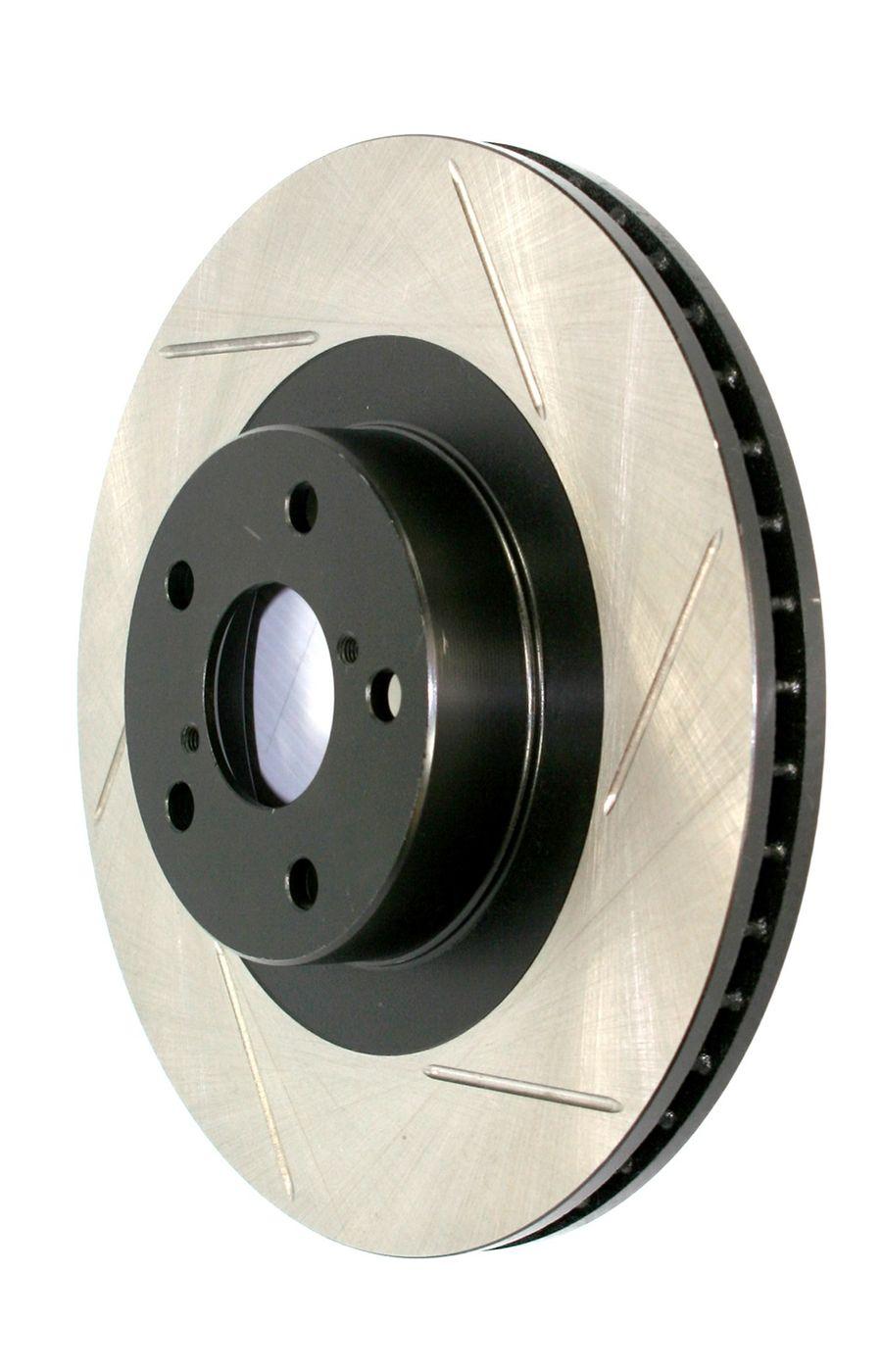 BMW M3 StopTech Disc Brake Rotors Brakes StopTech Sport Slotted Brake Disc 126.34028SR