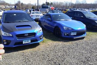 homepage tile photo for Awesome car show today we entered both cars and we all cruised...