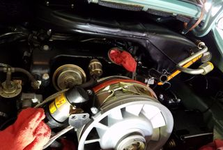 homepage tile photo for Airbox installed next is the intercooler