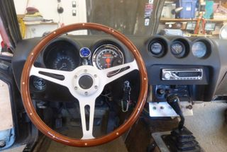 homepage tile photo for Install steering wheel and Sun Pro III tach