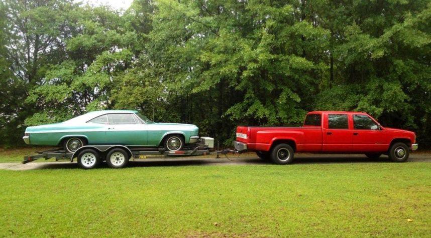 Main photo of Scott Johnson's 1966 Chevrolet Impala