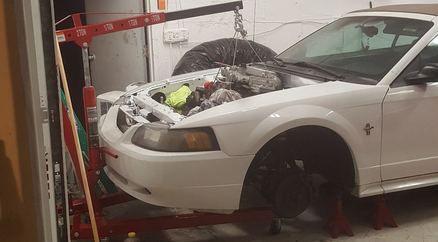 Main photo of Kyle Mcweeny's 2002 Ford Mustang