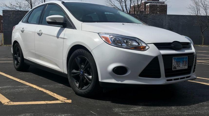 Main photo of Tyler Prewitt's 2014 Ford Focus