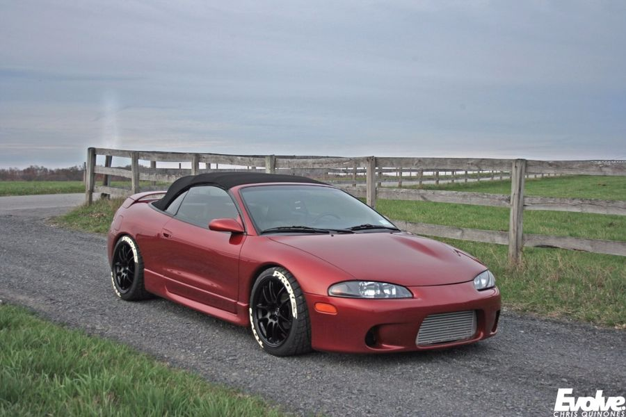 zach mcdermott s 1998 mitsubishi eclipse spyder on wheelwell 1998 mitsubishi eclipse spyder on wheelwell