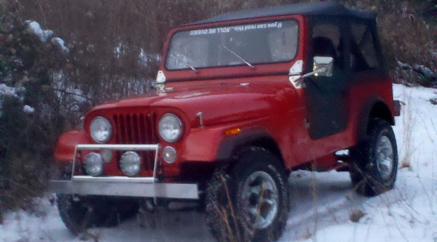 Main photo of Andrew Pitman's 1983 Jeep CJ-7