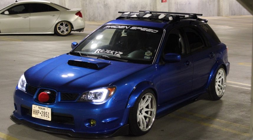 Main photo of Justin Schmisseur's 2007 Subaru Impreza