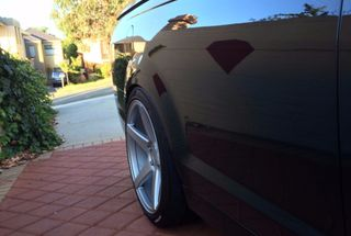 homepage tile photo for Got these 275/35 Nitto NT05s fitted at the same time as the Brembos...