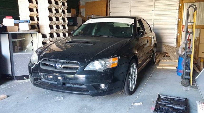 Main photo of Carlie Bentley's 2005 Subaru Legacy