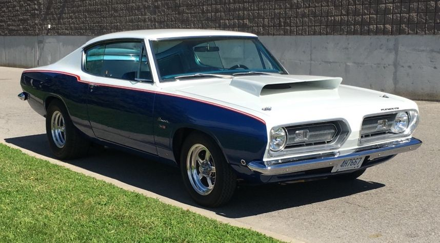 Main photo of Brent Clements's 1968 Plymouth Barracuda