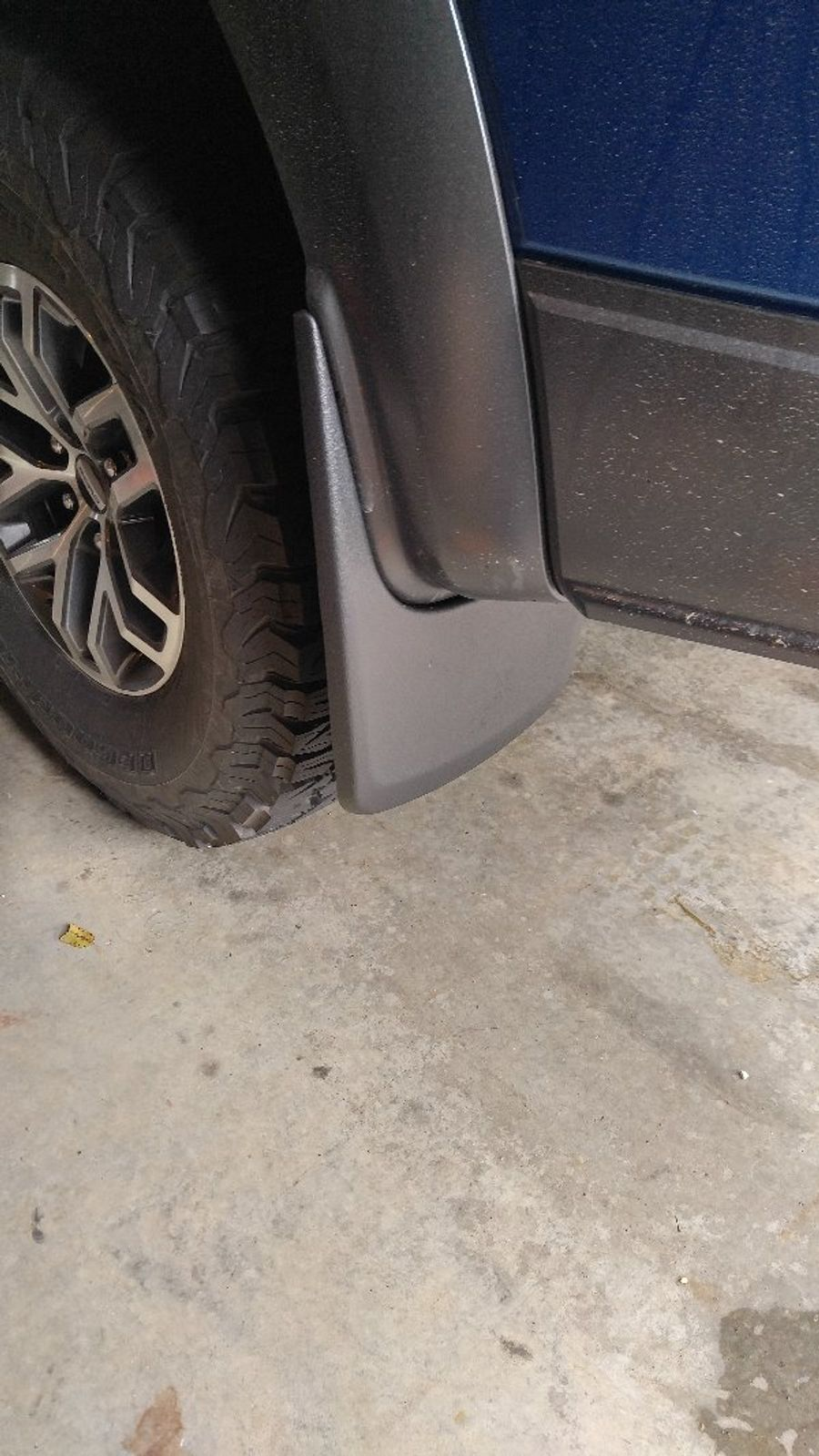 Husky Liners 58491 Mudflaps Installed On Jason Akers S Ford F 150 Raptor On Wheelwell