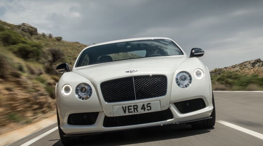 Main photo of Shaun Hawkins's 2014 Bentley Continental GT Speed Convertible