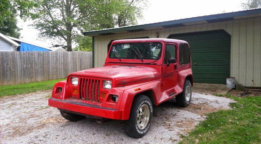 Main photo of Taz Patterson's 1993 Jeep Wrangler