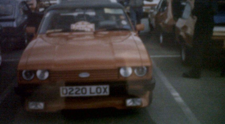 Main photo of Stefan Butler's 1986 Ford Capri