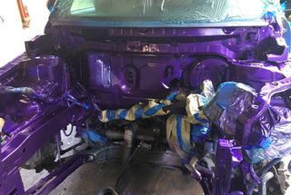 homepage tile photo for Today we finished painting the engine bay. Can't wait to see...