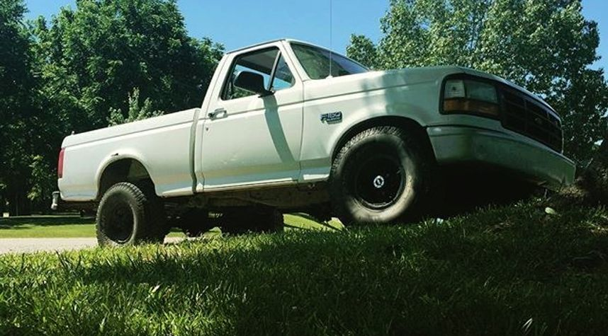 Main photo of Eric Pulley's 1996 Ford F-150