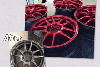 homepage tile photo for Wheels just came back from powder-coating!  Looking to purchase...