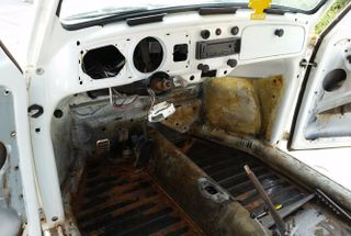 homepage tile photo for Got around to stripping the inside of the Volkswagen, she's solid...
