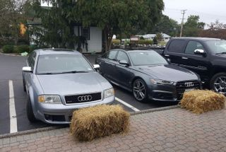 homepage tile photo for My proud grandfather RS6 next to its grandson S6. I couldn't...