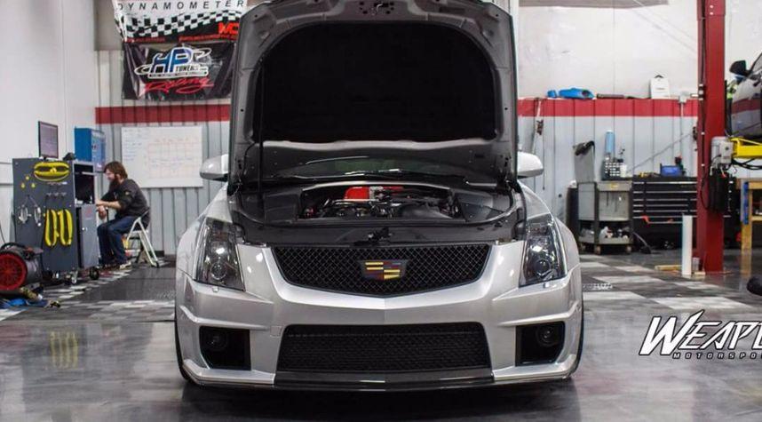 Main photo of Bill Stebbins's 2011 Cadillac CTS-V Coupe