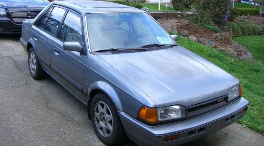 Main photo of Kealoha DeBord's 1988 Mazda 323