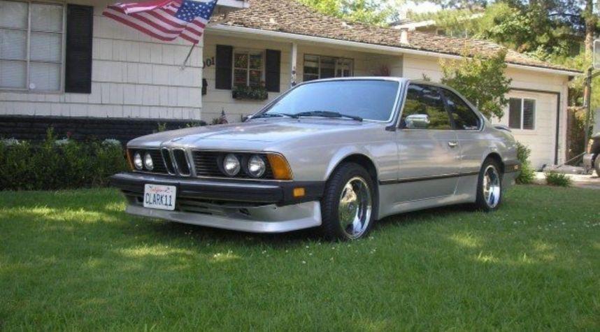 Main photo of Justin Clark's 1983 BMW 633