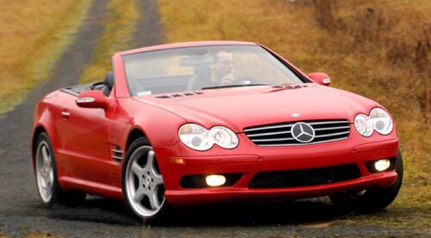 Main photo of George Proffitt's 2004 Mercedes-Benz SL-Class
