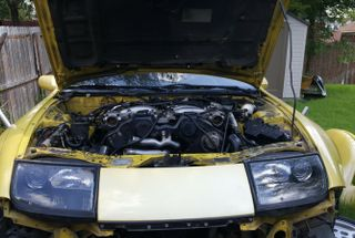 homepage tile photo for Put engine back in my Z. Geting closer to geting her on the road...