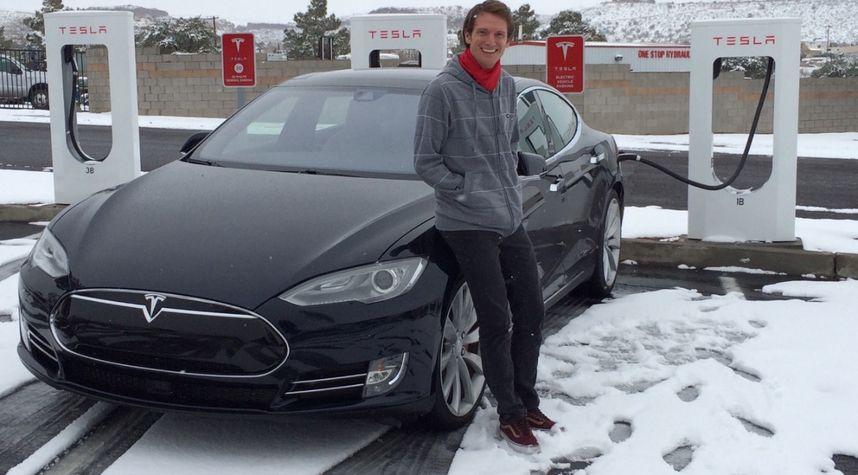 Main photo of Brian Holmes's 2014 Tesla Model S
