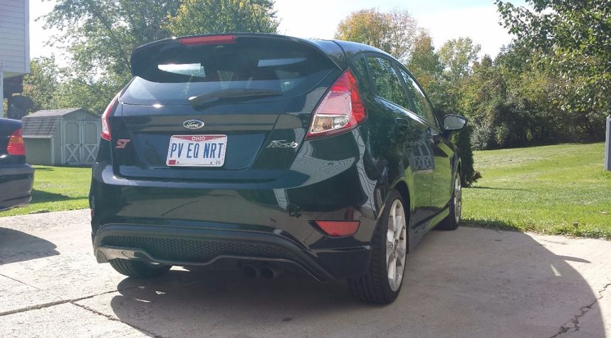 Main photo of Sean Harlow's 2015 Ford Fiesta