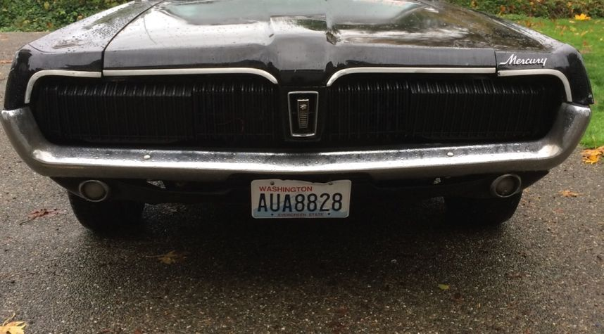 Main photo of Thomas Cagley's 1968 Mercury Cougar