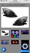 Thumbnail of Depo black housing headlights