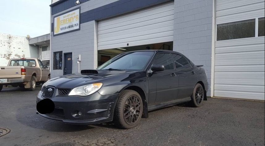 Main photo of Josh Robinett's 2007 Subaru Impreza WRX