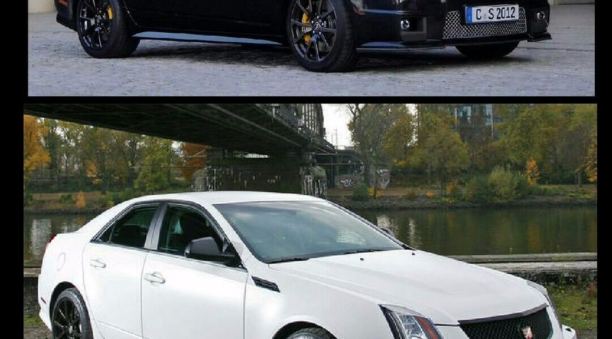 Main photo of Brian Shirley's 2013 Cadillac CTS-V