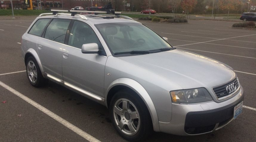 Main photo of Dominick Van Veen's 2004 Audi allroad quattro